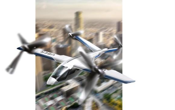 Butterfly es el diseño de Karem Aircraft, que recién se sumó al proyecto. Se especializa en despegue de forma vertical y en vehículos aéreos no tripulados.