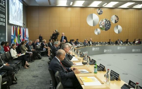 Ocde informa a Colombia de su afiliación al comité de trabajo