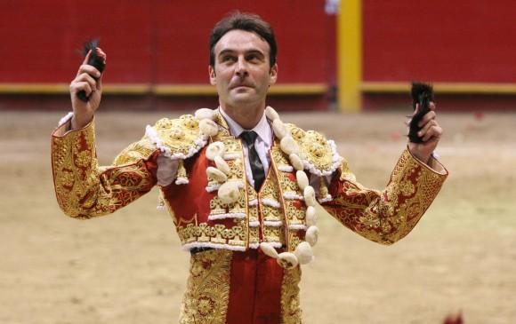 Enrique Ponce, figura del torero y triunfador de la temporada española. Estará en La Macarena en la próxima feria. FOTO archivo