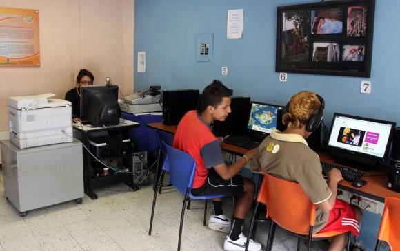La Corporación Picacho con Futuro trabaja con la población de la comuna 6. Foto: Manuiel Saldarriaga Quintero
