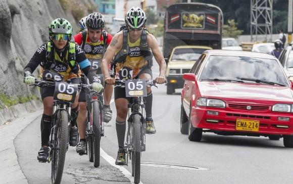 La dureza de la competencia también se evidencia sobre la bicicleta. FotoS RÓBINSON sáenz