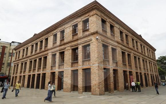 El edificio Vásquez, San Juan con Carabobo, es el mejor ejemplo de conservación patrimonial en Medellín.