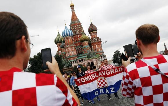Croacia y Francia jugarán la final del Mundial de Rusia-2018.FOTO EFE