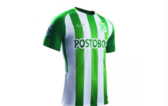 """10c3d973a """"Este año los colores verde y blanco iluminarán la camiseta de Atlético  Nacional inspirados en los colores de las montañas"""
