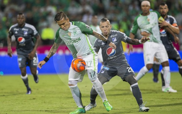 El último duelo entre Nacional y Millonarios en el Atanasio lo ganó el verde 1-0 con gol de Dayro Moreno