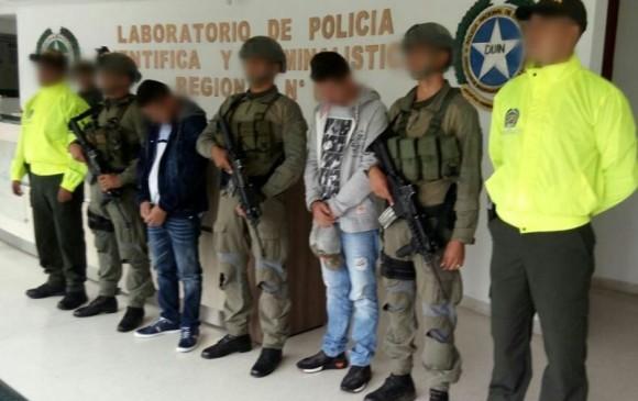 La policía capturó 24 presuntos integrantes del 'Clan del Golfo'