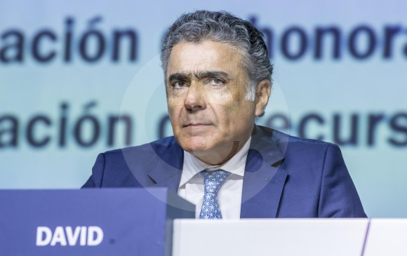 Davi Bojanini, presidente de Grupo Sura, resaltó el crecimiento operativo de las filiales Suramericana y Sura Asset Management durante el primer trimestre de este año. Foto. Juan Antonio Sánchez