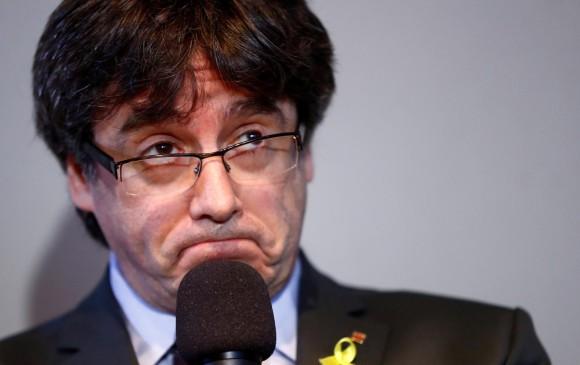 Carles Puigdemont. FOTO REUTERS