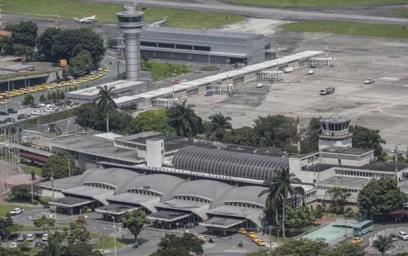 Aeropuerto Olaya Herrera opera con normalidad