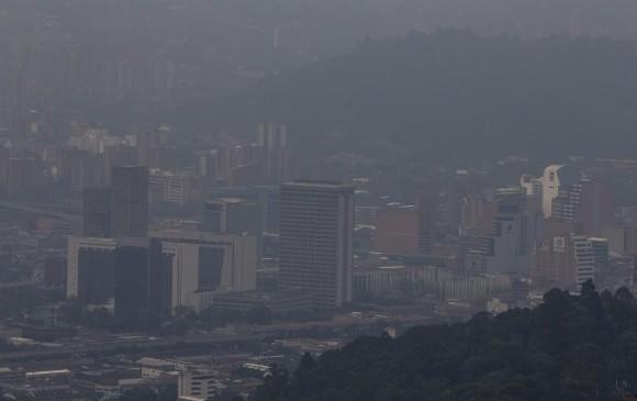Alerta en Medellín por contaminación en el aire