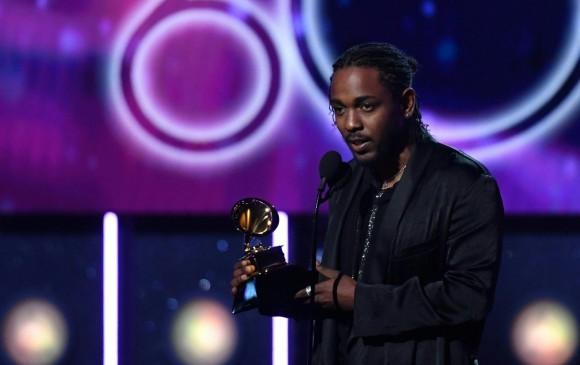 El rapero californiano Kendrick Lamar encabeza las nominaciones a los Grammy 2019. Foto: AFP