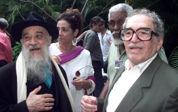Fernando Birri y Gabriel García Márquez. Foto: Rafael Pérez / Reuters