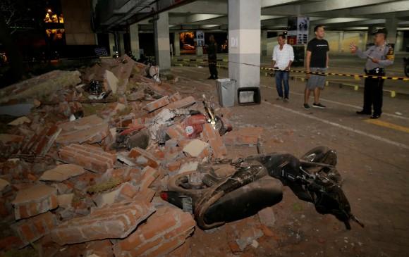 Sismo de magnitud 7 sacude la isla indonesia de Lombok