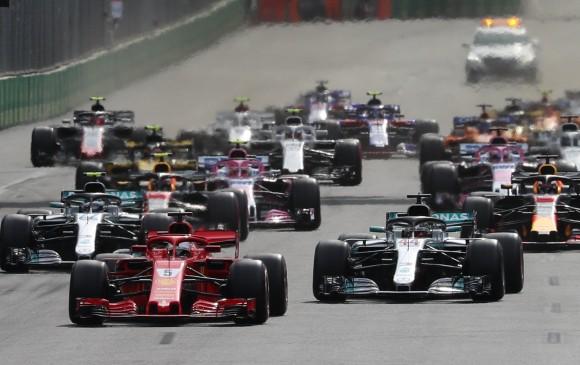 El Gran Premio de España se disputará en Barcelona entre el 11 y el 13 de mayo. FOTO EFE