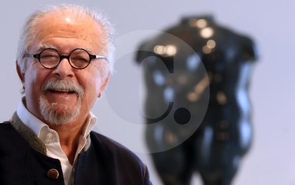 85 años cumple el artista antioqueño. FOTO Juan Antonio Sánchez