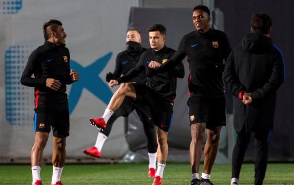 Coutinho estaba ansioso por su debut con el Barcelona