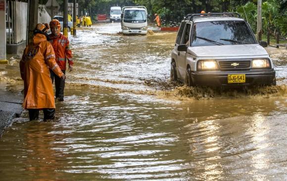 Inundaciones en El Poblado FOTO: JUAN ANTONIO SÁNCHEZ