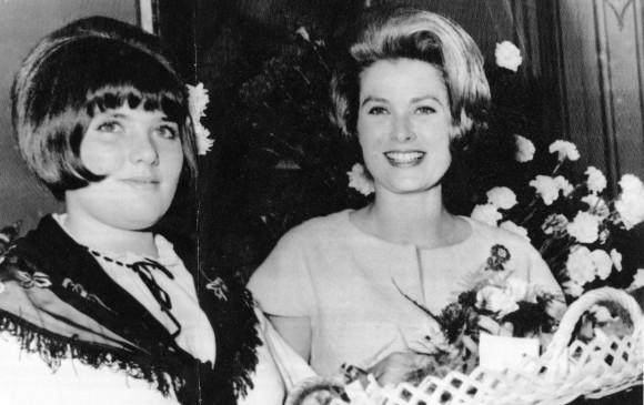 Grace Kelly, la princesa de Mónaco fue una de las preferidas del modisto francés.