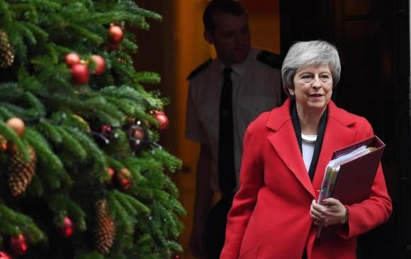 May no descarta un retraso de la votación del acuerdo del Brexit