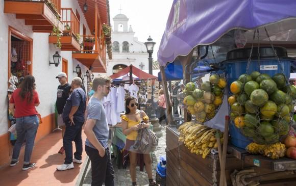 El Pueblito Paisa es uno de los referentes turísticos de la ciudad. FOTO EDWIN BUSTAMANTE