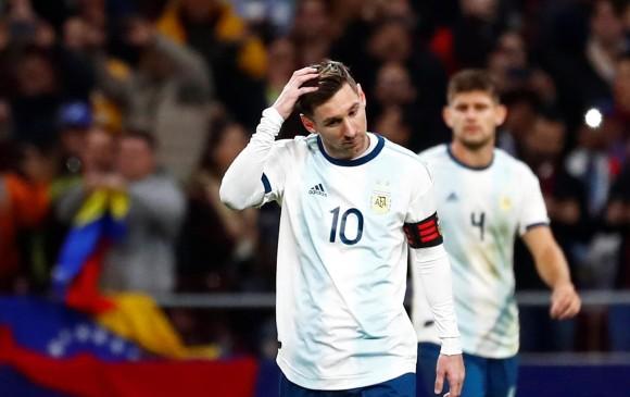 Venezuela le amargó a Messi su retorno a Argentina y la venció 3-1