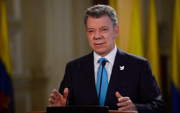 Informar a los colombianos sobre el diálogo nacional para la unión y la reconciliación es el objetivo del Presidente Santos. FOTO Archivo