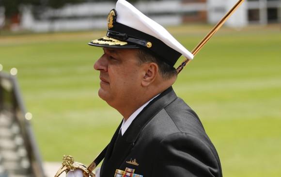 De infarto murió el comandante de la Armada Nacional, Leonardo Santamaría