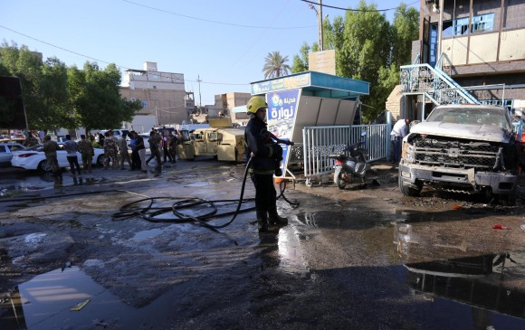 Al menos 29 muertos en dos atentados suicidas en Irak