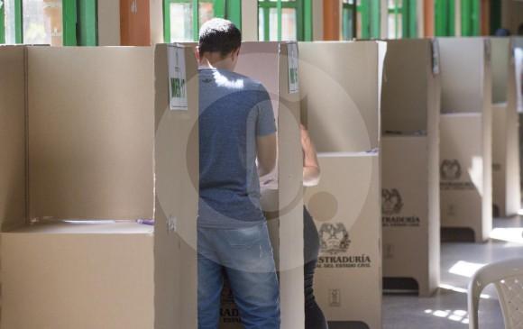 Pese a que el voto en blanco no superó ni siquiera el 10 % de la votación total, fue una expresión de disentimiento entre las dos opciones que estaban en juego este 17 de junio. FOTO edwin Bustamante