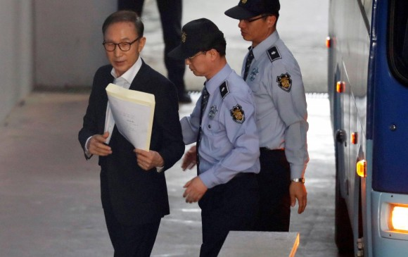 Un expresidente surcoreano, condenado a 15 años por corrupción