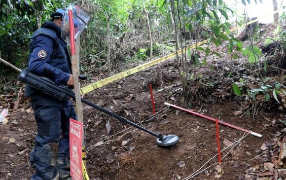 Presidente anuncia creación de segunda brigada de minas antipersona