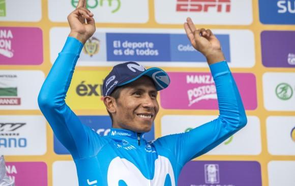 De forma épica, Nairo ganó la sexta etapa del Tour Colombia 2.1