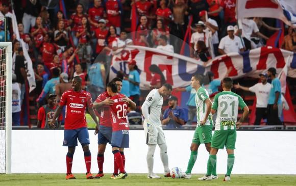 Seguramente entre los dos equipos paisas definan el cupo a Copa Libertadores que otorga la tabla anual en Liga. FOTO robinson sáenz