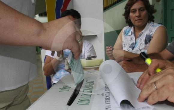 Tres partidos no podrán inscribir candidatos