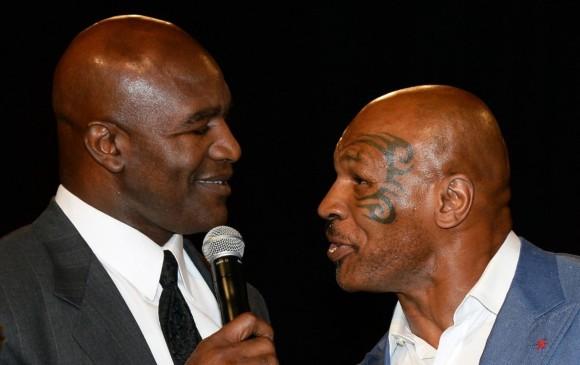 Holyfield insiste en retar a Tyson para subir al ring