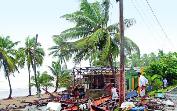 15.000 afectados por el Huracán Irma — República Dominicana