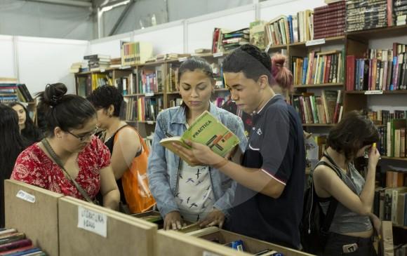 Entre los indicadores culturales los índices de lectura y eventos del libro hablan muy bien de Medellín. Un programa como la Fiesta del Libro es vital para la ciudad. Foto: Andrés Camilo Suárez