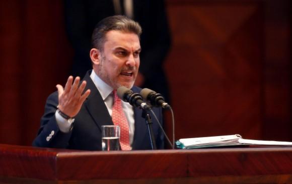 Serrano fue destituido con el voto favorable de 103 legisladores de 106 presentes en la sesión del Legislativo. FOTO EFE