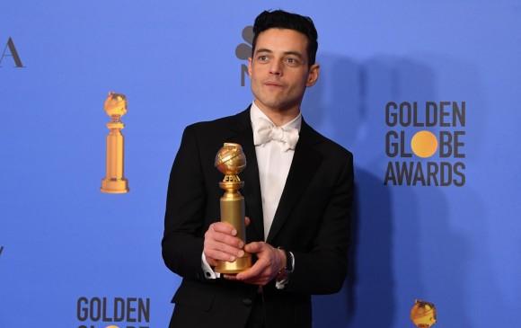 Rami Malek ganó como Mejor actor por su interpretación de Freddie Mercury. FOTO AFP