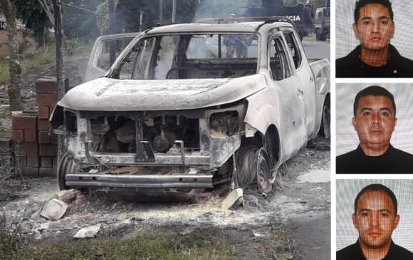Tres investigadores del CTI asesinados en Nariño