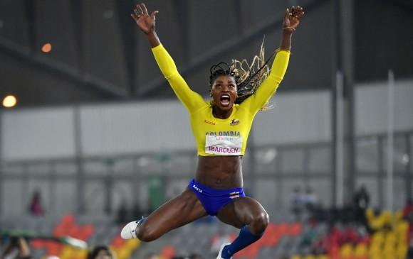 Caterine Ibargüen abandonó los Panamericanos por una molestia física