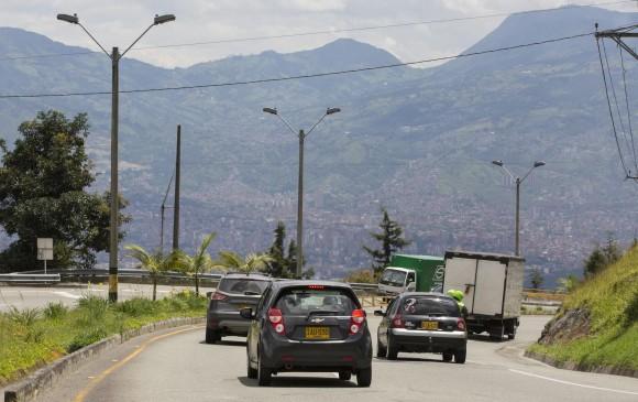 Las Palmas registra como una de las vias con más accidentes del país. Foto: Edwin Bustamante Restrepo