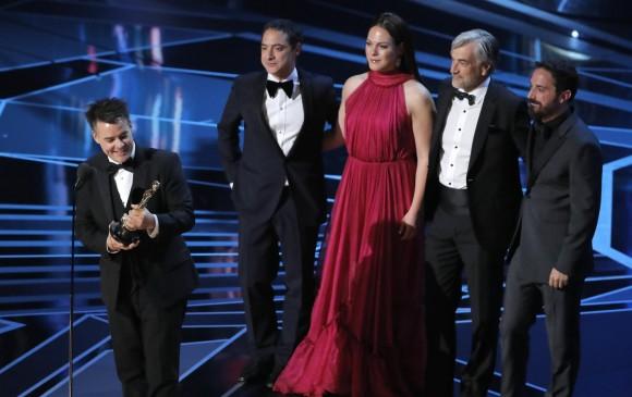 Chile celebra el galardón de Una mujer fantástica. FOTO Reuters