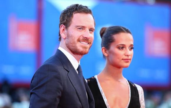 Alicia Vikander y Michael Fassbender tuvieron una mágica boda secreta