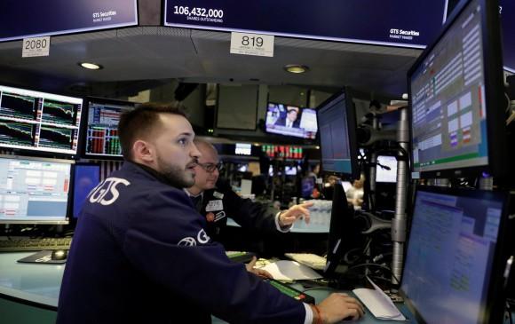 Histórica caída en Wall Street