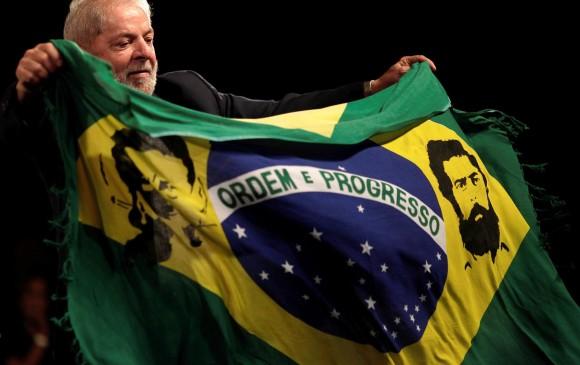 Expresidente de Brasil, Lula da Silva. FOTO: REUTERS
