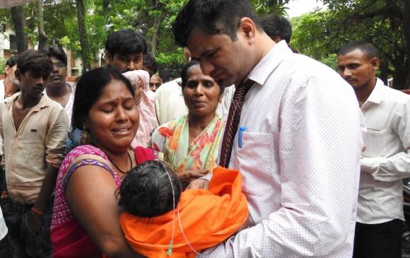En una semana mueren 60 niños en hospital de la India