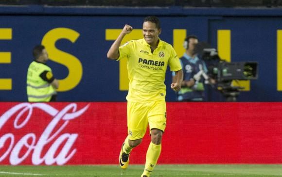 Bacca anota su primer gol con Villarreal