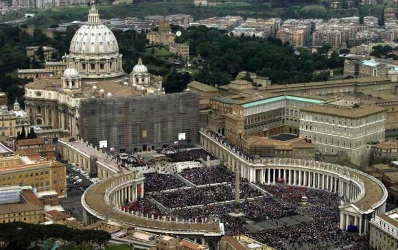 Imagen de archivo Ciudad del Vaticano. FOTO: REUTERS