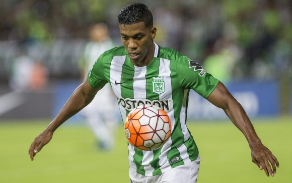 Orlando Berrío fue presentado como nuevo refuerzo de Flamengo